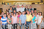 6550-6553.---------.Key to the Door.---------------.Darren Crean, Lowercannon, Tralee (front centre) had a great night celebrating his 21st birthday last Saturday night in Stoker's Lodge with his parent's Mike & Noreen, sisters Janise & Leona and many friend & family..---------------------------------------------------