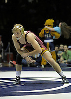 STATE COLLEGE, PA - JANUARY 25: Nick Wanzek of the Minnesota Golden Gophers during a match against the Penn State Nittany Lions on January 25, 2015 at Recreation Hall on the campus of Penn State University in State College, Pennsylvania. Minnesota won 17-16. (Photo by Hunter Martin/Getty Images) *** Local Caption *** Nick Wanzek