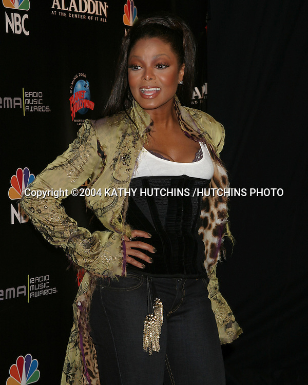 ©2004 KATHY HUTCHINS /HUTCHINS PHOTO.RADIO MUSIC AWARDS 2004.LAS VEGAS, CA.OCTOBER 25, 2004..JANET JACKSON