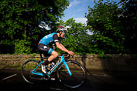 Picture by Alex Whitehead/SWpix.com - 27/05/2017 - Cycling - Tour Series Round 9, Durham - Ph-MAS Paul Milnes/Oldfield ERT's Tom Pidcock on his way to the win.