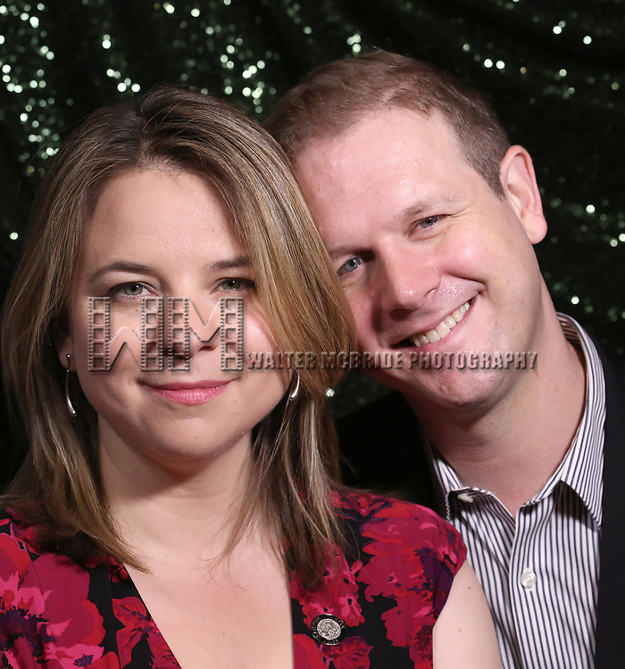 Irene Sankoff and David Hein attends the 2017 Tony Awards Meet The Nominees Press Junket at the Sofitel Hotel on May 3, 2017 in New York City.