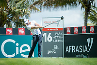 Tyrone Ryan (RSA) during the 3rd round of the AfrAsia Bank Mauritius Open, Four Seasons Golf Club Mauritius at Anahita, Beau Champ, Mauritius. 01/12/2018<br /> Picture: Golffile | Mark Sampson<br /> <br /> <br /> All photo usage must carry mandatory copyright credit (&copy; Golffile | Mark Sampson)