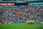 New Zealand vs Australia on Cup Semi Final during the Cathay Pacific / HSBC Hong Kong Sevens at the Hong Kong Stadium on 30 March 2014 in Hong Kong, China. Photo by Xaume Olleros / Power Sport Images