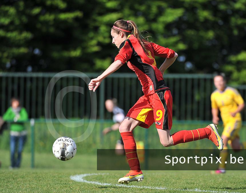 Belgium - Ukraine : Tessa Wullaert<br /> foto DAVID CATRY / Nikonpro.be