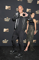 Actors Vin Diesel &amp; Jordana Brewster at the 2017 MTV Movie &amp; TV Awards at the Shrine Auditorium, Los Angeles, USA 07 May  2017<br /> Picture: Paul Smith/Featureflash/SilverHub 0208 004 5359 sales@silverhubmedia.com
