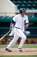Detroit Tigers Reynaldo Rivera (35) at bat during an Instructional League game against the Toronto Blue Jays on October 12, 2017 at Joker Marchant Stadium in Lakeland, Florida.  (Mike Janes/Four Seam Images)