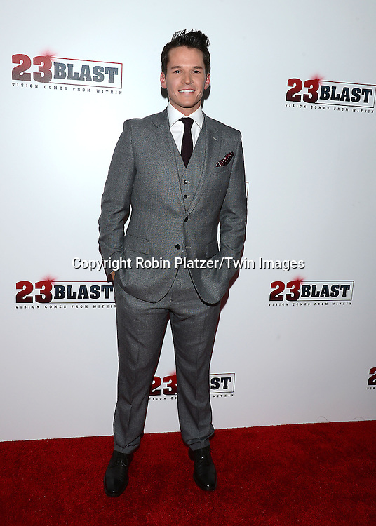 actor Mark Hapka attends the &quot;23 Blast&quot;  Movie Premiere  on October 20, 2014 at The Regal Cinemas E-Walk Theater in New York City. <br /> <br /> photo by Robin Platzer/Twin Images<br />  <br /> phone number 212-935-0770