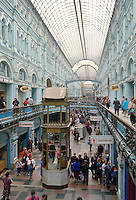 The Gum Store, shopping arcade,  Moscow