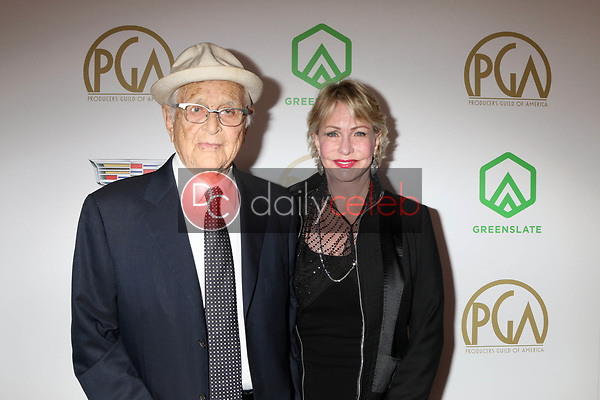Norman Lear, Lyn Lear<br /> at the 2019 Producer's Guild Awards, Beverly Hilton Hotel, Beverly Hills, CA 01-19-19<br /> David Edwards/DailyCeleb.com 818-249-4998