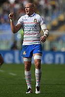 Sergio Parisse Italy<br /> Roma 16-03-2019 Stadio Olimpico<br /> Rugby Six Nations tournament 2019  <br /> Italy - France <br /> Foto Antonietta Baldassarre / Insidefoto