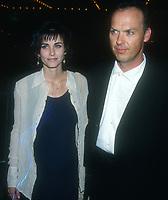 Courtney Cox Michael Keaton, 1994, Photo By Michael Ferguson/PHOTOlink