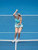Sharapova Mid-Court forehand