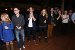 Steven Pasquale, Kelli O'Hara, Cass Morgan, Tim Wright and Company during the Actor's Equity Opening Night Gypsy Robe Ceremony honoring Jennifer Allen for 'The Bridges of Madison County'  at the Gerald Schoenfeld Theatre on February 20, 2014 in New York City.