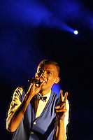 "Stromae in concert at the "" Brussels Summer Festival """