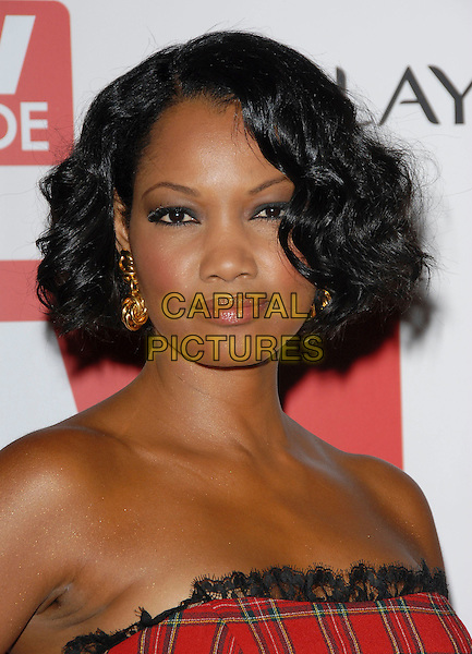 GARCELLE BEAVAIS-NILON.attends The 4th Annual TV Guide Post Emmy Party .held at Social in Hollywood, California, USA, .August 27, 2006..portrait headshot beauvais nilon red tartan plaid strapless dress.Ref: DVS.www.capitalpictures.com.sales@capitalpictures.com.©Debbie VanStory/Capital Pictures