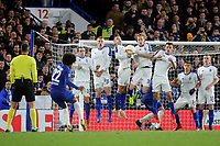 Willian scores Chelsea's second goal direct from a free-kick during Chelsea vs Dynamo Kiev, UEFA Europa League Football at Stamford Bridge on 7th March 2019