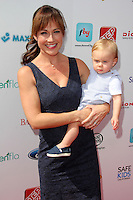 Nikki DeLoach, William Hudson Goodell<br /> at the 3rd Annual Red CARpet Safety, Skirball Cultural Center, Los Angeles, CA 09-28-14<br /> David Edwards/Dailyceleb.com 818-249-4998