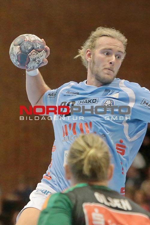 05.99.2015 , Sportarena, Hannover, GER,  DKB Handball-Bundesliga 15/16, TSV Hannover-Burgdorf vs Bergischer HC . <br /> <br />  HC Spieler Fabian Gutbrod #22<br /> <br /> <br /> <br />   Foto &copy; nph / Rust