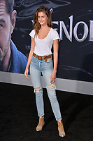 "LOS ANGELES, CA. October 01, 2018: Taylor Hill at the world premiere for ""Venom"" at the Regency Village Theatre.<br /> Picture: Paul Smith/Featureflash"