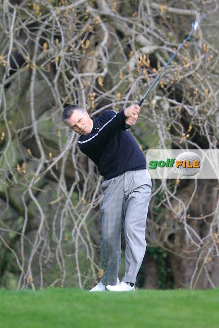 Shane Underwood (Co Sligo) during the Headfort Scratch Cup, Kells, Co Meath 21/4/13.Picture: Thos Caffrey www.golffile.ie...