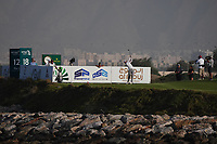 Sami Valimaki (FIN) on the 18th for the 3rd Play Off hole during Round 4 of the Oman Open 2020 at the Al Mouj Golf Club, Muscat, Oman . 01/03/2020<br /> Picture: Golffile | Thos Caffrey<br /> <br /> <br /> All photo usage must carry mandatory copyright credit (© Golffile | Thos Caffrey)