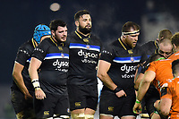 Elliott Stooke of Bath Rugby looks on. European Rugby Champions Cup match, between Benetton Rugby and Bath Rugby on January 20, 2018 at the Municipal Stadium of Monigo in Treviso, Italy. Photo by: Patrick Khachfe / Onside Images