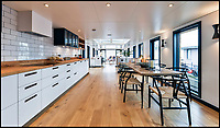 BNPS.co.uk (01202 558833)<br /> Pic:  Riverhomes/BNPS<br /> <br /> Float your boat? - stunning floating home in the heart of Chelsea comes to market.<br /> <br /> A stunning houseboat moored on the Thames at Chelsea embankment has gone on the market for &pound;1.75m.<br /> <br /> The two bedroom luxury floating home, called Walter Greaves, has all the trappings of a penthouse apartment.<br /> <br /> It was designed, built and finished by the Chelsea Yacht and Boat Company and features a contemporary open-plan design.<br /> <br /> A similar sized two-bed flat overlooking the Chelsea Embankment costs about &pound;3m, making the houseboat a relative bargain.