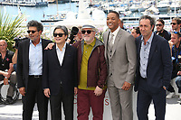 GABRIEL YARED, PARK CHAN-WOOK, PEDRO ALMODOVAR, WILL SMITH AND PAOLO SORRENTINO - PHOTOCALL OF JURY AT THE 70TH FESTIVAL OF CANNES 2017