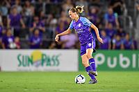 Orlando, FL - Saturday July 20, 2019:   Emily Van Edmond #05 during a regular season National Women's Soccer League (NWSL) match between the Orlando Pride and the Sky Blue FC at Exploria Stadium.