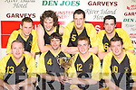 The Rathmore team that defeated St Annes in the Mens County Division 2 final at the 2008 St Mary's Christmas blitz in Castleisland Community Centre on Tuesday front row l-r: Jim Hughes, Stephen Lehane, Gerard O'Keeffe, Denis Reen. Back row: Conor O'Sullivan, Don Murphy, John Buckley and Donal Lehane