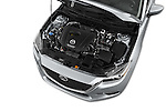 Car Stock 2017 Mazda Mazda3 Sport 4 Door Sedan Engine  high angle detail view