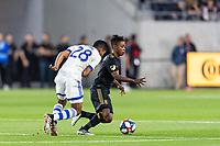 Los Angeles, CA - May 24, 2019: LAFC defeated Montreal Impact 4-2 in a MLS match at Banc of California stadium.