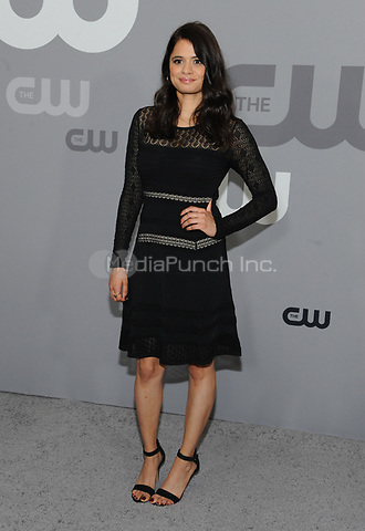NEW YORK, NY - MAY 17: Melonie Diaz at the 2018 CW Network Upfront at The London Hotel on May 17, 2018 in New York City. Credit: John Palmer/MediaPunch