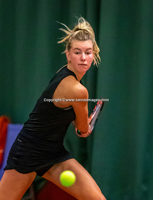 Wateringen, The Netherlands, December 4,  2019, De Rhijenhof , NOJK 14 and18 years, Annemart Kleijn (NED)<br /> Photo: www.tennisimages.com/Henk Koster