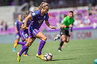 Orlando, FL - Saturday June 24, 2017: Rachel Hill during a regular season National Women's Soccer League (NWSL) match between the Orlando Pride and the Houston Dash at Orlando City Stadium.