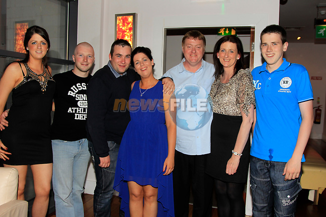 Ashling Murphy 23th Birthday with boyfriend Laurence shine and Family in Bru<br /> Picture:  Fran Caffrey / www.newsfile.ie