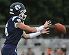 Ryan Walsh #16, Northport quarterback, takes a snap during a Suffolk County Division I varsity football game against Lindenhurst at Glenn High School on Saturday, Sept. 2, 2017.