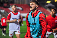 Fleetwood Town's defender Ryan Rydel (35) during the The Leasing.com Trophy match between Fleetwood Town and Liverpool U21 at Highbury Stadium, Fleetwood, England on 25 September 2019. Photo by Stephen Buckley / PRiME Media Images.