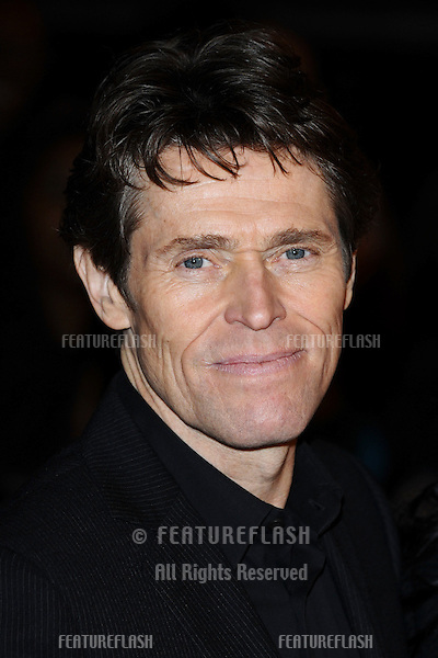 "Willem Dafoe at the ""John Carter"" premiere at the BFI South Bank, London. 02/03/2012 Picture by: Steve Vas / Featureflash"