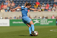 Bridgeview, IL - Saturday June 17, 2017: Taylor Comeau during a regular season National Women's Soccer League (NWSL) match between the Chicago Red Stars and the Washington Spirit at Toyota Park. The match ended in a 1-1 tie.