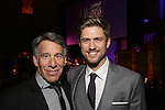 Stephen Schwartz and Aaron Tveit attends the Dramatists Guild Fund Gala 'Great Writers Thank Their Lucky Stars : The Presidential Edition' at Gotham Hall on November 7, 2016 in New York City.