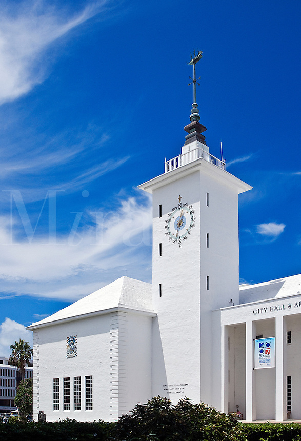City Hall building, Hamilton, Bermuda