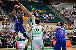 Basketball Champions League 2017/18 - Previus.<br /> Divina Seguros Joventut vs Dinamo Tbilisi: 86-66.<br /> Boyd Lavell Lafrey vs Simon Birgander.
