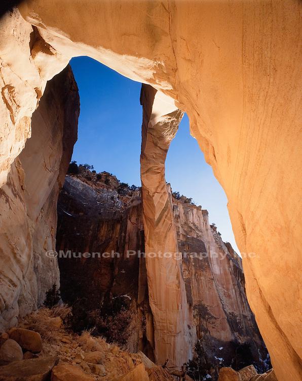 Ventana Arch El Malpais NM  NEW MEXICO