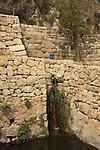 Israel, Jerusalem Mountains. Ein Sataf in Sataf