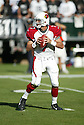 MATT LEINART, of the Arizona Cardinals, in action against the Oakland Raiders on October 22, 2006 in Oakland, CA..Raiders win 22-9..Rob Holt / SportPics.