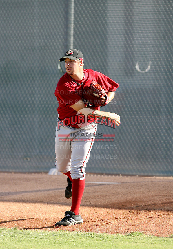 Bryan Shaw / Arizona Diamondbacks 2008 Instructional League..Photo by:  Bill Mitchell/Four Seam Images
