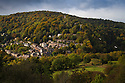 19/10/16<br /> <br /> Suspended over a kaleidoscope of autumn colour, cable cars make their way up to the Heights of Abraham high above Matlock Bath in the Derbyshire Peak District.<br /> <br /> WPD apprentices clear land on Bolehill near Cromford, Derbyshire.<br />  <br /> All Rights Reserved F Stop Press Ltd. +44 (0)1773 550665
