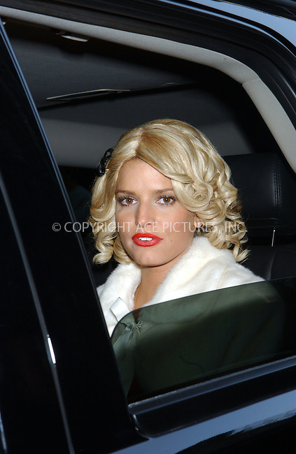 WWW.ACEPIXS.COM . . . . .....March 1 2007, New York City....Actress Jessica Simpson out and about in Manhattan during the filming of her latest movie 'Blond Ambition'.  ....Please byline: Kristin Callahan - ACEPIXS.COM..... *** ***..Ace Pictures, Inc:  ..Philip Vaughan (646) 769 0430..e-mail: info@acepixs.com..web: http://www.acepixs.com