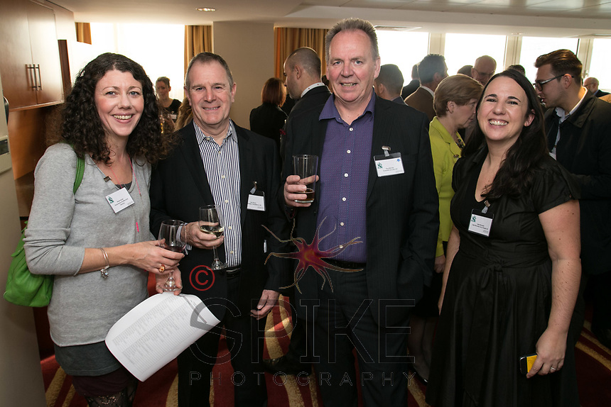 From left are Finola Brady of Finola Brady Architectural Services, Ian Storey of Saxondale Consultancy, Paul Ritchie of Foremost Security and Julie Richards of Julie Richards Architectural Design